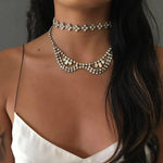 Collar Choker Necklace
