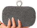 Diamond-Studded Clutch Bag