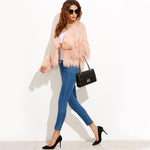 Keepsake Pink Faux Fur Coat - Fashion Genie Boutique