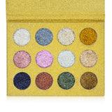 IMagic Beauty Glitter 12 Color Eyeshadow Palette - Fashion Genie Boutique USA Alt