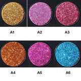 Handaiyan 6 Color Glitter Eyeshadow Palette - Fashion Genie Boutique USA Alt