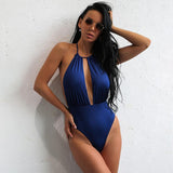 Beach Queen Navy Swimsuit - Fashion Genie Boutique