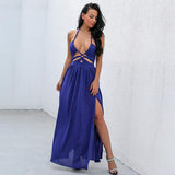 Magic Of Love Cobalt Blue Maxi Dress - Fashion Genie Boutique