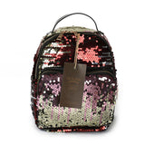 Mini Gold Sequin Backpack - Fashion Genie Boutique USA Alt