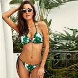 Ablaze Multi Tropical Bikini Swimsuit - Fashion Genie Boutique