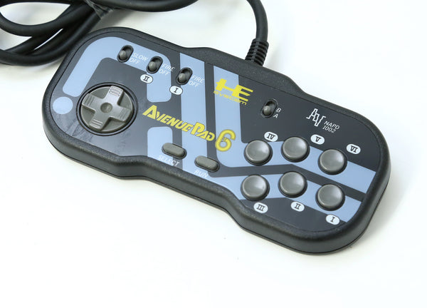 "Hudson PC Engine Avenue Pad 6 Game Controller ""Excellent ++"""