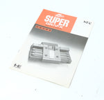 "NEC PC Engine Super Grafx Game Manual ""Excellent ++"""