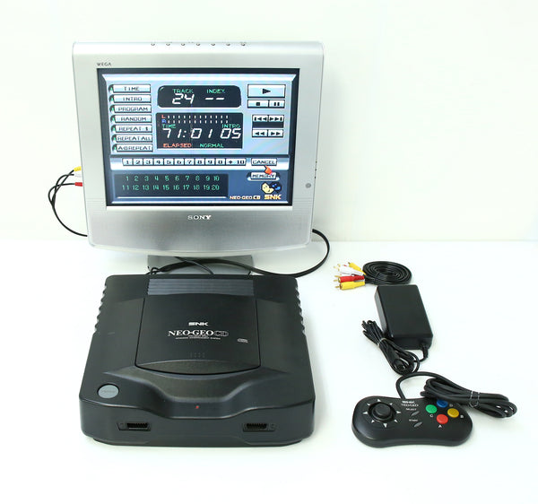 "SNK Neo Geo CD Game Console System ""Excellent ++"""