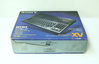 "Sony MSX 2+ HB-F1XDV Personal Computer Game Boxed ""Excellent +++"""