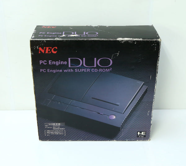 "NEC PC Engine DUO Game Box and Polystyrene ""Excellent ++"""