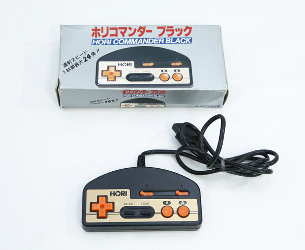 "HORI Commander Controller Pad HJ-10 Black for Famicom Boxed ""Excellent++"""