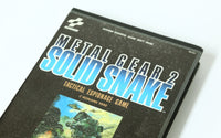"MSX Game KONAMI Metal Gear 2 Solid Snake ""Excellent +++"""