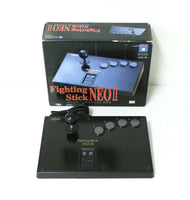 "SNK Neo Geo Hori Fighting Stick NEO II Controller Boxed ""Excellent +++"""