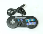 "Hori PC Engine Fighting Commander 6 Game Controller ""Excellent ++"""