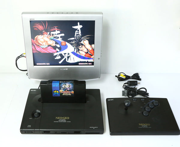 "SNK Neo Geo AES Game Console Uni Bios 3.2 System ""Excellent ++"""