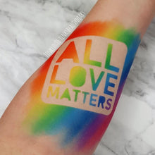 All Love Matters - Word Stencil