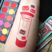 Post Box and Letters - Swatch Art Stencil