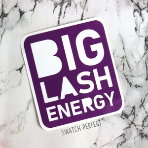 Word Stencil - Big Lash Energy