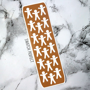 Gingerbread Men - 18 Pan Stencil