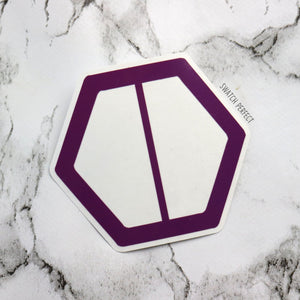 Hexagon Duo Stencil | Inspired by Fenty Beauty