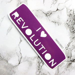 I Heart Revolution - Logo Stencil | Inspired by Revolution Beauty