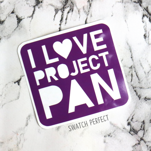 Word Stencil - I Love Project Pan