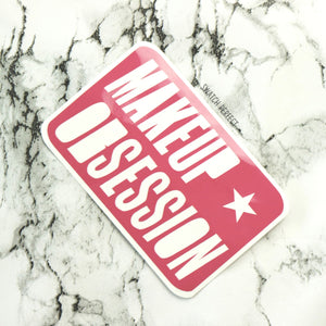 Makeup Obsession - Logo Stencil | Inspired by Revolution Beauty