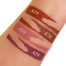 Cutout Lipstick Stripes - 10 Pan Stencil