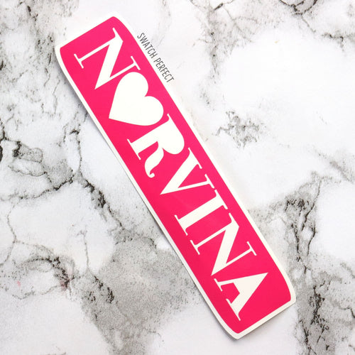 Norvina - Logo Stencil | Inspired by Anastasia Beverly Hills