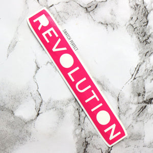 Makeup Revolution - Logo Stencil | Inspired by Revolution Beauty