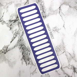Rounded Stripes - 15 Pan Stencil