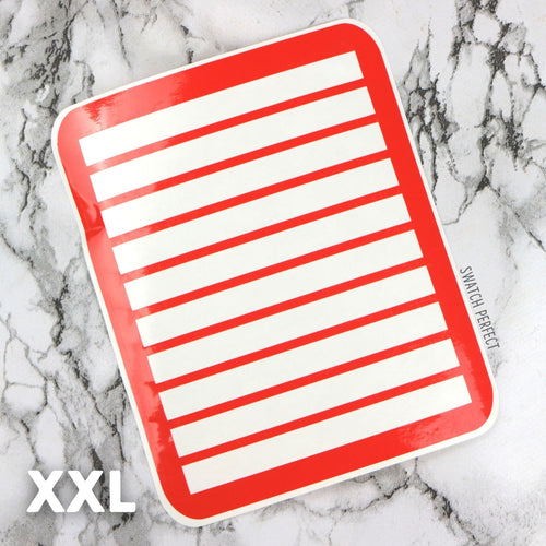 Wraparound Stripes - 10 Pan Stencil | XXL