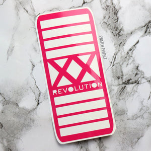 XX Revolution - 12 Pan Stencil | Inspired by Revolution Beauty