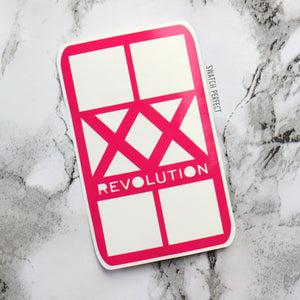 XX Revolution - 4 Pan Stencil  | Inspired by Revolution Beauty