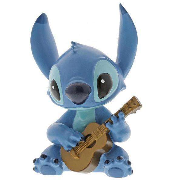 Figurine Stitch Guitare - Eléphant Malin