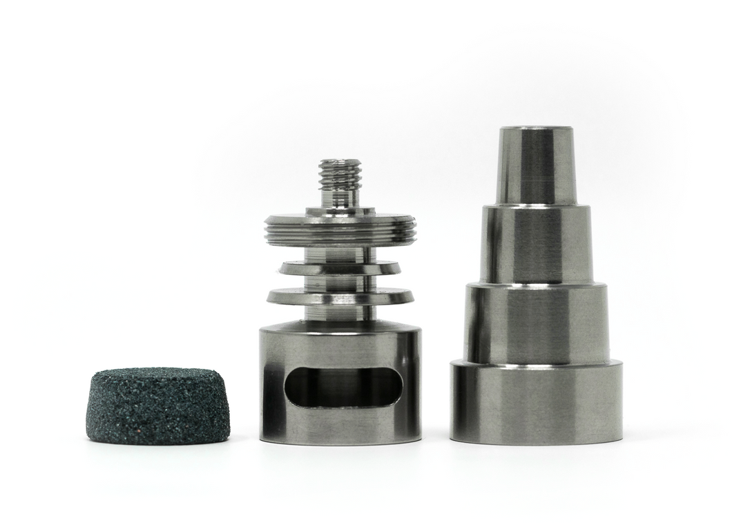 Medical Grade 2 Titanium Moonrock Universal Nail