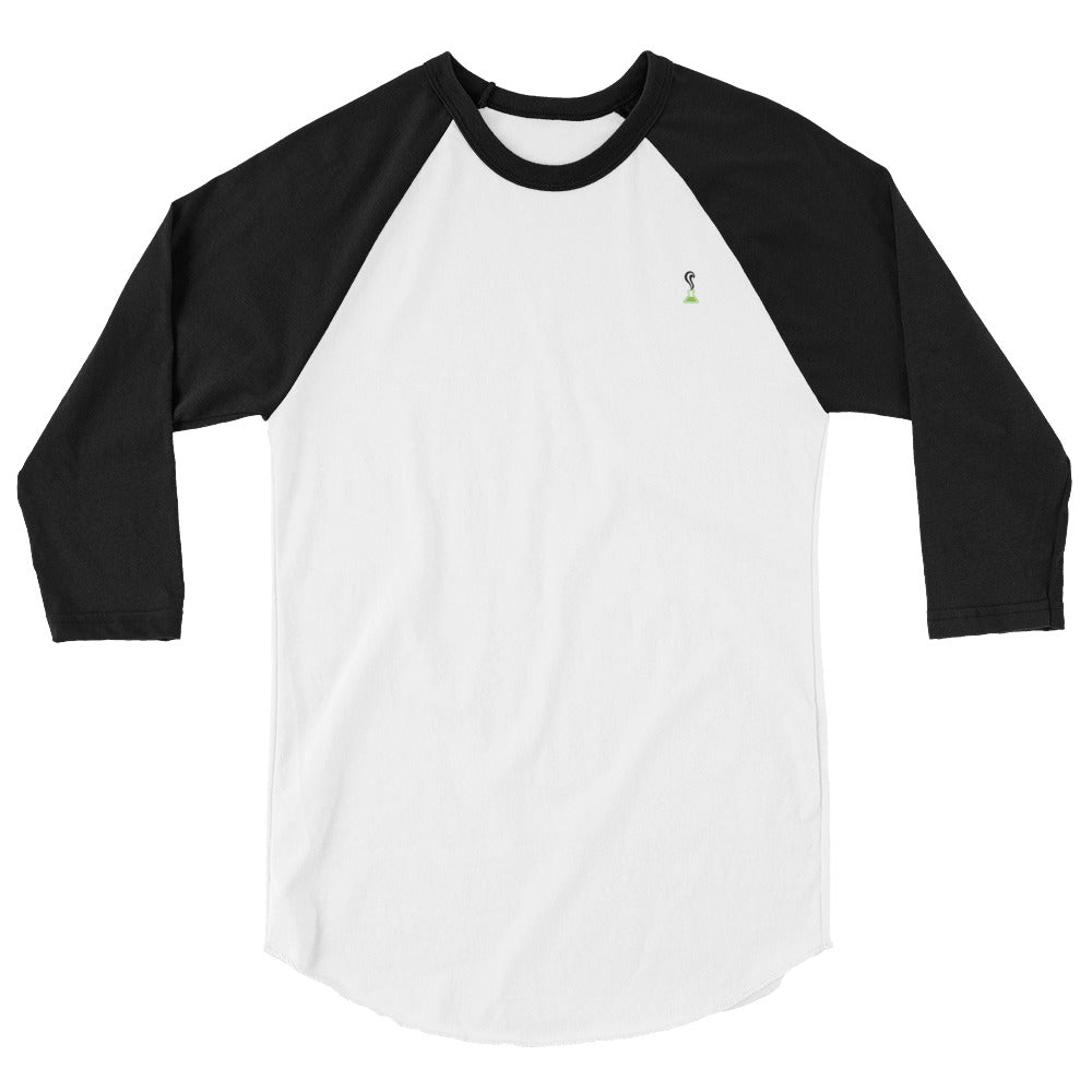 Ladies 3/4 sleeve raglan shirt