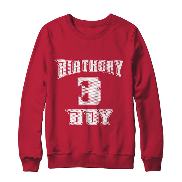 3rd Birthday Shirt Gift Age 3 Year Old Boy T