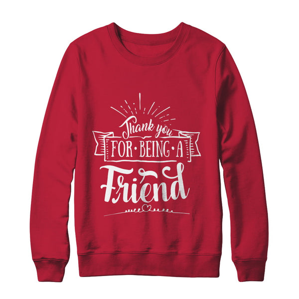 Thank You For Being A Friend Birthday Gift Ideas