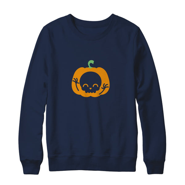 b26c7407 Womens Pumpkin T-Shirt Cute Halloween Pregnancy Announcement - Teely ...