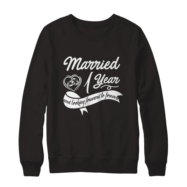 Celebrate First Wedding Anniversary Gifts For Couple T Shirt Teely