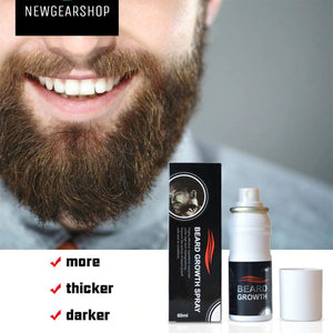 Men Beard Glow Stimulator Fast Nutrition Growth Spray