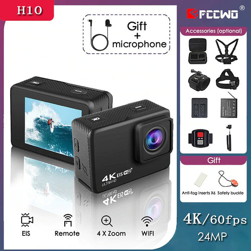 Sport Action Camera 4K Wifi Ultra HD 16MP