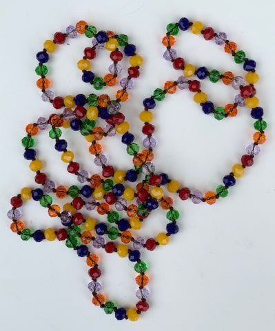 Glass Bead Necklace- Multicolor