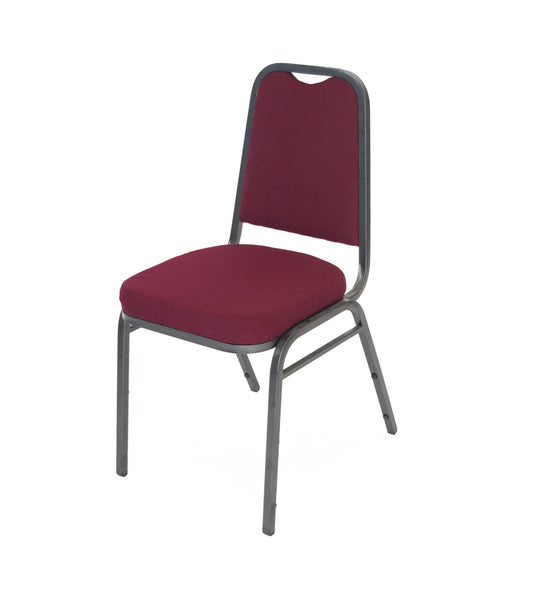 A-Frame Banquet Chair-Burgundy