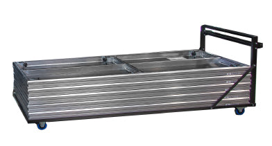 Platform Trolley - stores up to 10 pcs. of 8x4 ft Panels in Laying Position