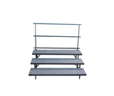 3 TIER STRAIGHT CHORAL RISERS - Riser Connections not Included