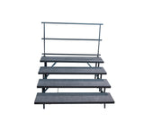 4 TIER STRAIGHT CHORAL RISERS