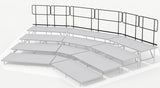 Rear Guard Rails for 3 Tier Seated Riser System