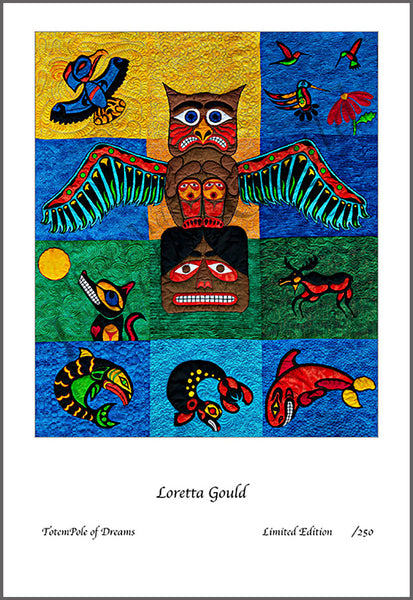 66 - Quilt Print - TotemPole of Dreams
